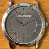 Audemars Piguet Jules Audemars White gold 41mm Brown No numerals