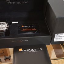 Hamilton Chronograph Automatic 2018 pre-owned Intra-Matic Black