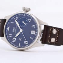 IWC Big Pilot Steel 46mm Brown No numerals United Kingdom, Oxford