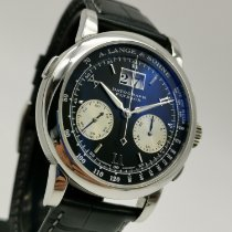 A. Lange & Söhne Palladium Manual winding pre-owned Datograph
