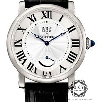 Cartier Rotonde de Cartier Steel 40mm Silver Roman numerals United States of America, New York, NEW YORK