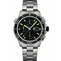 TAG Heuer CAK2111.BA0833 Steel 2019 Aquaracer 500M 43mm new