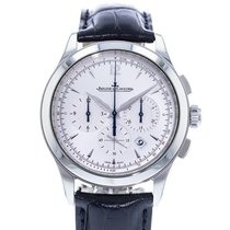 Jaeger-LeCoultre Master Chronograph Aço 40mm Prata