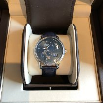 Glashütte Original PanoMaticLunar Steel 40mm Blue United States of America, North Carolina, Arden