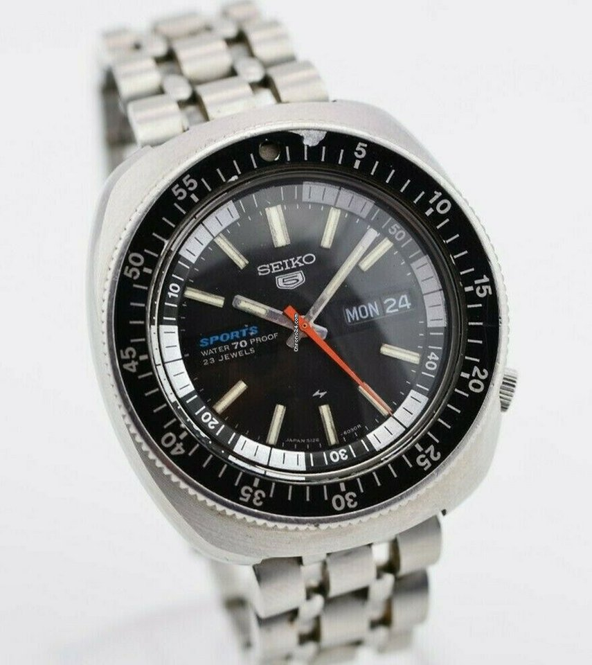 Seiko 5 Sports All Prices For Seiko 5 Sports Watches On Chrono24