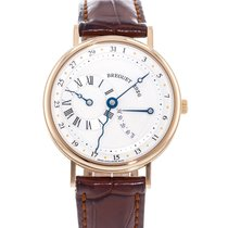 Breguet Rose gold Automatic Silver 36mm pre-owned Classique