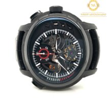 Audemars Piguet Carbon Manual winding Black No numerals 46.65mm pre-owned Millenary Chronograph