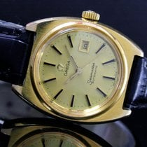 Omega Seamaster Gold/Steel 17mm Gold No numerals India, Mumbai