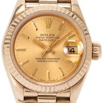 Rolex Lady-Datejust Ouro amarelo 26mm