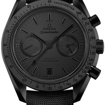 Omega Ceramic Automatic Black No numerals new Speedmaster Professional Moonwatch