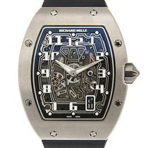 Richard Mille pre-owned Automatic 38.7mm Transparent Sapphire Glass 5 ATM