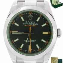Rolex Milgauss Steel 40mm Green