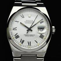 Rolex Datejust Oysterquartz Stål 36mm Vit Inga siffror