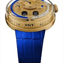 HYT Yellow gold Manual winding Gold 49mm new H0