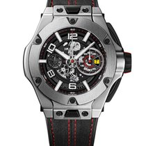 Hublot Big Bang Ferrari Titanium 45mm Transparent Arabic numerals United States of America, New York, NEW YORK