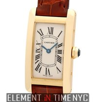 Cartier Tank Collection Tank Americaine Ladies 18k Yellow Gold