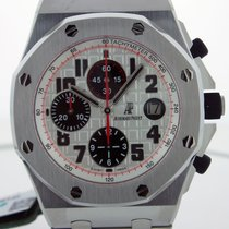 Audemars Piguet Royal Oak Offshore Chronograph Acier 42mm Argent Arabes