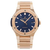 Hublot Classic Fusion Blue Rose gold 45.00mm Blue United Kingdom, London