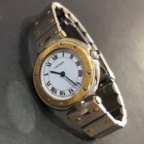Cartier Santos (submodel) használt 33mm Arany/Acél