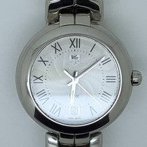 TAG Heuer Link Lady Steel 34mm Silver Roman numerals