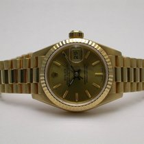 Rolex President 69178 18k Yellow Gold Automatic Champagne Dial...