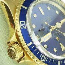 Rolex 1978 1680/8 Solid 18KYG Submariner Date Tropical Nipple...