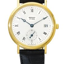 Breguet | A Yellow Gold Automatic Wristwatch With Date Ref...