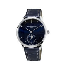 Frederique Constant Manufacture Slimline Moonphase nieuw 42mm Staal