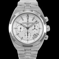 Vacheron Constantin Overseas Chronograph Steel 42.5mm Silver United States of America, California, San Mateo