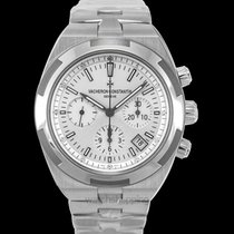 Vacheron Constantin Steel Automatic Silver 42.50mm new Overseas Chronograph