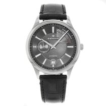 Zenith Captain Power Reserve Acero 40mm Negro Sin cifras