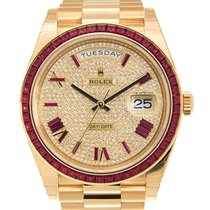 勞力士 Day-date 18 K Yellow Gold Gold Automatic 228398TRU