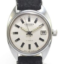 Citizen AUTOMATIC 17J SERVICED 06/1963 White automatik PARAWATER