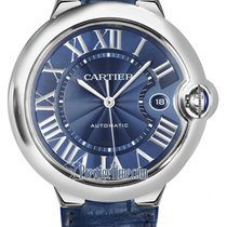 Cartier Ballon Bleu 42mm Steel 42mm Blue United States of America, New York, Airmont