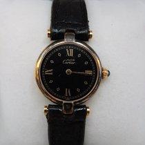 Cartier PARIS VERMEIL QUARTZ ARGENT 925 PLAQUE OR