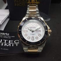 N.O.A Gold/Steel 51mm Automatic OCRF-AUT-ST-RG-BK new