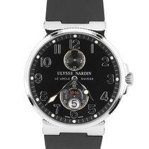 Ulysse Nardin Marine Chronometer 41mm Steel 41mm Black Arabic numerals