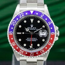 劳力士  16710 GMT Master II SS Red / Blue Pepsi Bezel (30077)