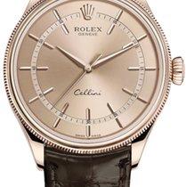 Rolex Cellini Time Pозовое золото 39mm Розовый