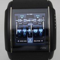 HD3 SLYDE スライド タッチスクリーンウォッチ チタニウム フルブラック PVD 純正ラバーベルト