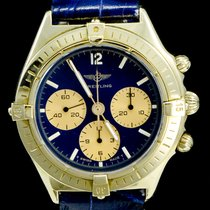 Breitling Callisto Yellow gold 36mm Blue No numerals