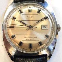 Timex 35mm Automatik 1976 gebraucht Silber