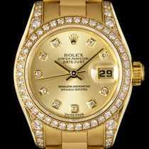 Rolex Lady-Datejust usado 26mm Ouro amarelo