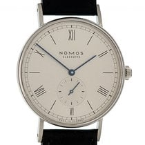 NOMOS Ludwig 38 Steel 38mm White Roman numerals