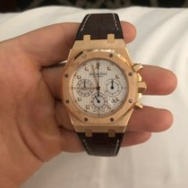 Audemars Piguet 26022OR.OO.D088CR.01 Roségold 2013 Royal Oak Chronograph 39mm gebraucht
