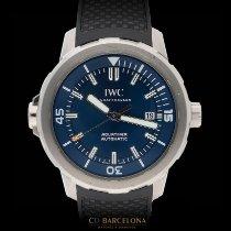 42e58b97f95e IWC Aquatimer Automatic Acero 42mm Azul Sin cifras España