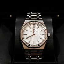 Audemars Piguet Royal Oak Lady Steel 33mm Silver No numerals