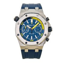 Audemars Piguet Royal Oak Offshore Diver Chronograph Acero 42mm Azul Sin cifras