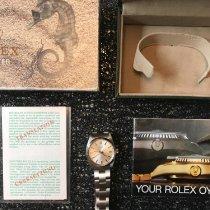 롤렉스 오이스터 프리시전 신규 1985 수동감기 시계 및 정품 박스와 서류 원본 6426
