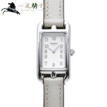 Hermès Steel Quartz White 23mm new